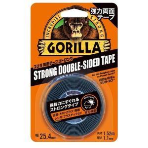 【ゴリラ】両面テープ ストロング アクリル粘着系 強力接着テープ 幅25.4mm×長さ1.52m×厚さ1.1mm(KURE-E-1779)|muranokajiya