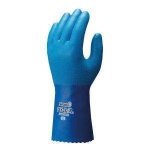ムレにくく水を通さず透湿性のある素材を使用した作業用手袋です。 耐油性・耐洗剤性に優れ、やわらかく丈...