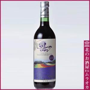 ふらのワイン ラベンダー香り付きラベル赤 720ml 普通|muraoka-liquor