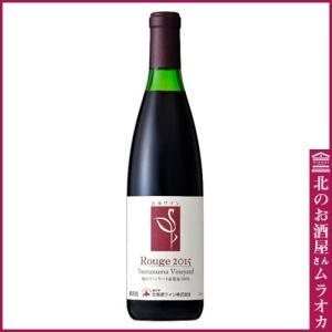 鶴沼ヴィンヤード ルージュ 2015 ワイン/赤 720ml ミディアム|muraoka-liquor