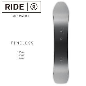 予約販売 10月中旬入荷予定 スノーボード 板 RIDE ライド TIMELESS タイムレス 18-19モデル メンズ FF H1 MM|murasaki