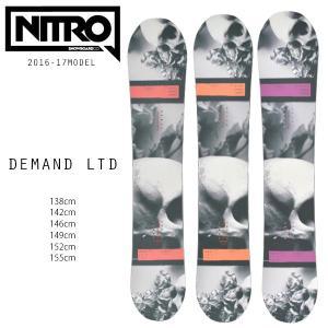 送料無料 スノーボード 板 NITRO ナイトロ DEMAND LTD デマンド 16-17モデル メンズ DX K25|murasaki