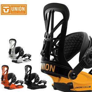 【UNION】 ユニオン スノーボードバインディング とても軽いフライトベースに、限界まで軽量化され...