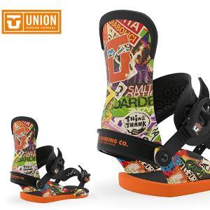 【UNION】 ユニオン スノーボードバインディング コンタクトプロをベースにスコット・スティーブン...