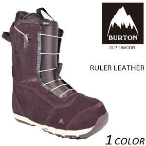 送料無料 スノーボード ブーツ BURTON バートン RULER LEATHER ルーラー レイトモデル 17-19モデル メンズ EE L9|murasaki