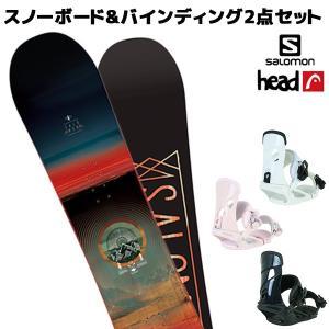 スノーボード+バイディング 2点セット SALOMON サロモン PULSE パルス HEAD ヘッド NX MU 18-19モデル メンズ FF K21 murasaki