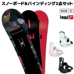 スノーボード+バイディング 2点セット RIDE ライド RAPTURE ラプチャー HEAD ヘッド NX MU 18-19モデル レディース FF K21 murasaki