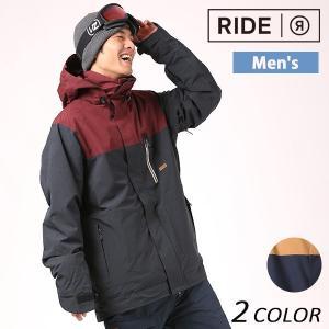 送料無料 スノーボード ウェア ジャケット RIDE ライド Hillman Jacket 17-18モデル メンズ EE J19|murasaki