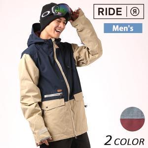 送料無料 スノーボード ウェア ジャケット RIDE ライド Northlake Jacket 17-18モデル メンズ EE G4|murasaki