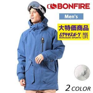 送料無料 スノーボード ウェア ジャケット BONFIRE ボンファイアー STRATA INS JKT 17-18モデル メンズ EE K6|murasaki
