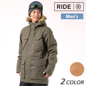 送料無料 スノーボード ウェア ジャケット RIDE ライド Union Parka Jacket 17-18モデル メンズ EE J19|murasaki