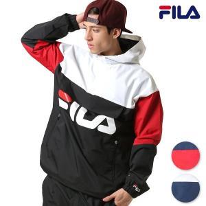 メンズ ジャケット FILA フィラ 448-929 レディース ユニセックス アノラック アウター FF L18|murasaki