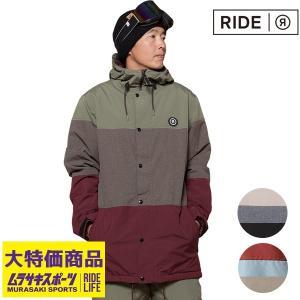 スノーボード ウェア ジャケット RIDE ライド HAWTHORNE JACKET 18-19モデル メンズ FF K12|murasaki