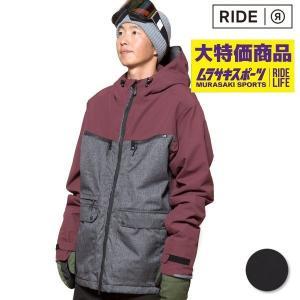 スノーボード ウェア ジャケット RIDE ライド M15K Northlake Jacket 18-19モデル メンズ FF K17|murasaki