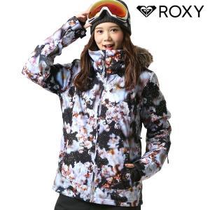 SALE セール スノーボード ウェア ジャケット ROXY ロキシー ERJTJ03186 M / mika ninagawa コラボレーションモデル 18-19モデル レディース FX J19|murasaki