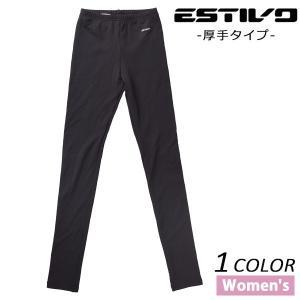 スノーボード ウェア インナー パンツ ESTIVO エスティボ EVW6721 厚手 レディース EX L1|murasaki