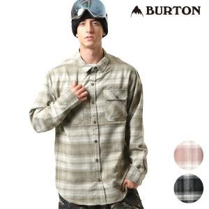 【BURTON】バートンのメンズ長袖シャツ。 タウンユースはもちろん、スノーシーンでも 人気を集める...