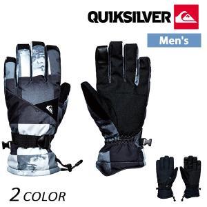 メンズ スノーボード グローブ QUIKSILVER クイックシルバー MISSION GLOVE EQYHN03079 17-18モデル EX K14|murasaki
