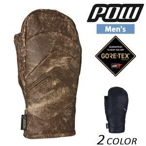 メンズ スノーボード グローブ Pow Gloves パウグローブ STEALTH GTX MITT+WARM GORE-TEX ゴアテックス 16-17モデル E1 J6 murasaki