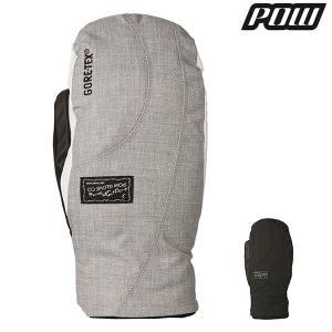 レディース スノーボード グローブ Pow Gloves パウグローブ WS CRESCENT GTX MITT GORE-TEX ゴアテックス 16-17モデル E1 J6|murasaki