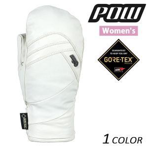 レディース スノーボード グローブ Pow Gloves パウグローブ WS STEALTH GTX MITT+WARM GORE-TEX ゴアテックス 16-17モデル E1 J6|murasaki