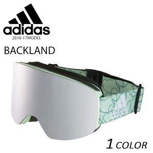 スノーボード ゴーグル adidas アディダス BACKLAND AD80 51 6054 16-17モデル E1 B6|murasaki