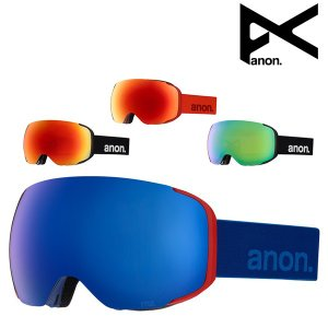 【ANON】アノンのスノーボードゴーグル 16個のレアアースマグネットと共に、業界で最も素早いレンズ...