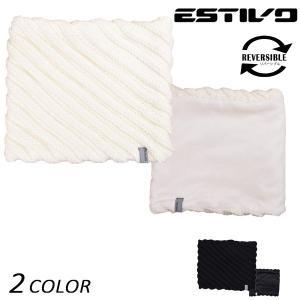 ネックウォーマー (リバーシブル) ESTIVO エスティボ SLANT NECK WARMER EVA7654 EX K20|murasaki
