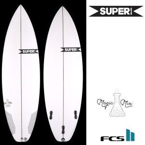 サーフボード ショート SUPER BRAND スーパーブランド MAGIC MIX 3FIN FF D16|murasaki