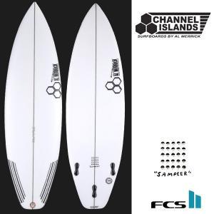 サーフボード ショート Al Merrick アルメリック CHANNEL ISLANDS チャンネルアイランド THE SAMPLER FCS2 FF D4|murasaki