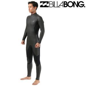 SALE セール メンズ ウェットスーツ セミドライ ジップタイプ BILLABONG ビラボン BZ BLKED AI018-614 5mm×3mm ムラサキスポーツ限定 FF I12 murasaki