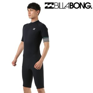 SALE セール メンズ ウェットスーツ スプリング ジップタイプ BILLABONG ビラボン BZ HVL REVOLUTION AI018-152 2mm×2mm FF E29 murasaki