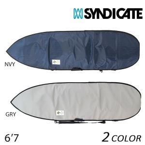 サーフィン ハードケース SYNDICATE シンジケート HRD BOARD BAG SB 6'7 ショートボード用 DX F17 murasaki
