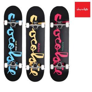 スケートボード コンプリートセット chocolate チョコレート MR PRICE POINT COMPLETES CMPPC2 ムラサキスポーツ限定 FF G31|murasaki