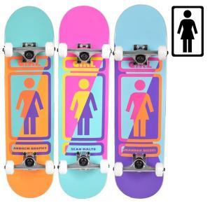 スケートボード コンプリートセット GIRL ガール GMPPC3 MR PRICE POINT COMPLETES 3 ムラサキスポーツ限定 FF K27|murasaki