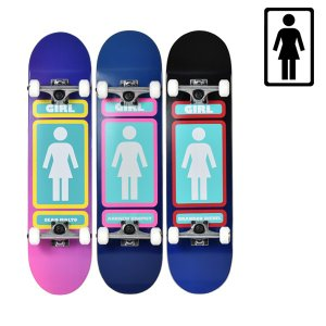 スケートボード コンプリートセット GIRL ガール MR PRICE POINT COMPLETES GPPC2 ムラサキスポーツ限定 FF G31|murasaki