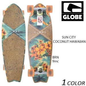 送料無料 クルージングボード GLOBE グローブ SUN CITY COCONUT HAWAIIAN EE G31|murasaki