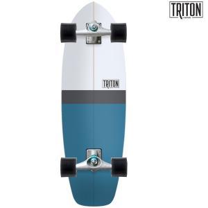サーフ スケートボード コンプリート CARVER カーバー TRITON BLUE HORIZON CX FF F12|murasaki