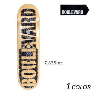 送料無料 スケートボード デッキ BLVD ブルーバード BOLD FOIL TEAM NATIVE VIBLD32-NT-1 日本限定モデル EE D15|murasaki
