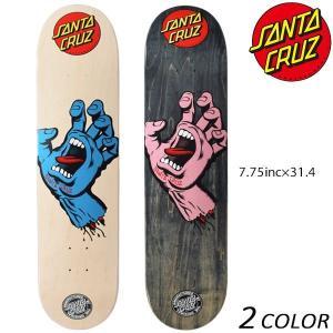 送料無料 スケートボード デッキ SANTA CRUZ サンタクルーズ MR SCREAMING HAND EE K24|murasaki