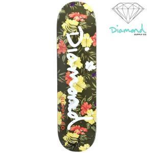 スケートボード デッキ Diamond Supply Co. ダイヤモンド サプライ ALOHA FLORAL OG B18DMSK001 FF H7|murasaki