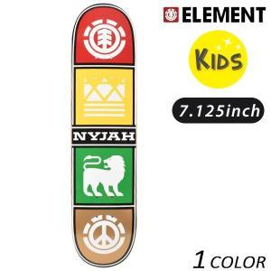 キッズ スケートボード デッキ ELEMENT エレメント NYJAH QUAD TWIG AI027-120 FF E7|murasaki