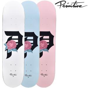スケートボード デッキ PRIMITIVE プリミティブ PM9 MR ROSEBUD ムラサキスポーツ限定 FF J24|murasaki