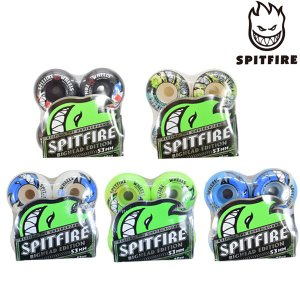 スケートボード ウィール SPITFIRE スピットファイヤー BIGHEAD EDITION HTC♯ 53mm ハードウィール ムラサキスポーツ限定 EE G11|murasaki