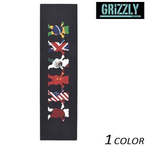 スケートボード デッキテープ GRIZZLY グリズリー GRIP TAPE WORLDWIDE TRIBE VIGRG111 FF C10 murasaki