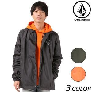 SALE セール メンズ ジャケット VOLCOM ボルコム MU COACH JKT A15317JA EE3 J18 murasaki