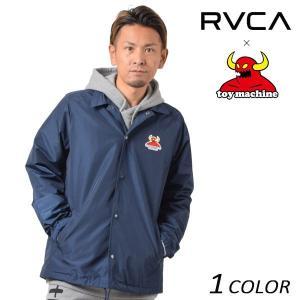 SALE セール  メンズ ジャケット RVCA ル―カ × TOY MACHINE トイマシーン AI041-750 FF1 L15|murasaki
