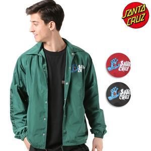 SALE セール メンズ ジャケット SANTA CRUZ サンタクルーズ コーチジャケット SCREAMER 50281101 ムラサキスポーツ限定 FF1 B14|murasaki