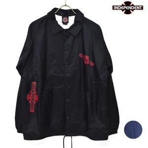 メンズ ジャケット INDEPENDENT インディペンデント 51883104 コーチジャケット ナイロンジャケット FF3 J20 MM murasaki