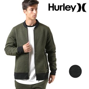 SALE セール メンズ アウター ジャケット Hurley ハーレー AJ2224 ma1 軽量 軽い サーフカジュアル トレーニング ウェア ニット フリース 春 冬 秋 FF3 H21|murasaki